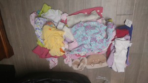 Big lot of baby girl items