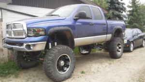Lifted 2003 Dodge Cummins