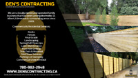FENCES.. DECKS.. LANDSCAPING.. LAWN MAINTENANCE.. SKID STEER