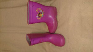 Assortment of 4t girls shoes and boots