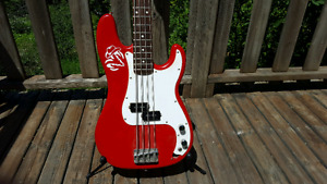 20th Anniversary Squier P Bass by Fender