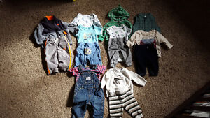 Boys 0-3month outfits