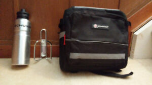 Bicycle Panier and Water Bottle For Sale