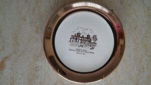 Vintage Canadian collectible plates