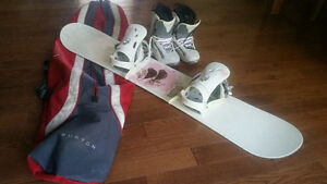 Ladies Morrow Snowboard package