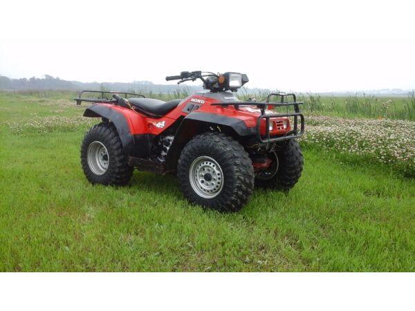 2002 honda fourtrax 350 manual