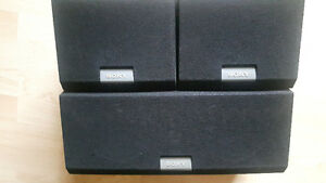 Sony surrounds and center channel