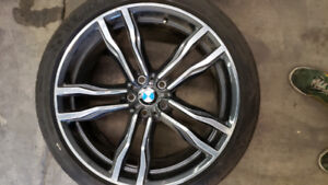 21 inch BMW X5 or X6 wheels and tires.   BRAND NEW CONDITION!!!