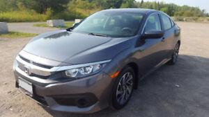 Finance Takeover: Brand new 2018 Honda Civic EX 2.0L +Incentive