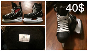 Women's ice hockey skates- size 6