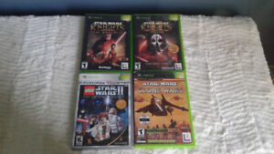 Pre Owned Star Wars Games for Xbox