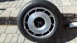 16 in Rims with Goodrich Tires for 85 Corvette p25550r16 vr4