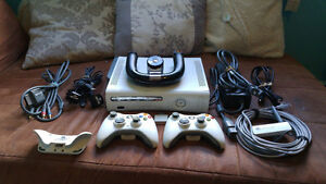 Microsoft Xbox 360 System + a ton of accessories