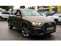 2012 Audi Q3 2.0T FSI (170) Quattro S Line Manual Petrol Estate