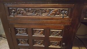 Hand carved Antiques Mexican Desk