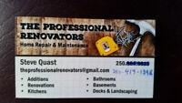 The professional renovators