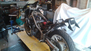 1988 Yamaha FZ600 for sale for parts