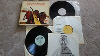 country and western    6 LPs