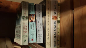 Nicholas Sparks novels