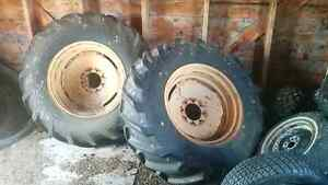 Antique tractor tires
