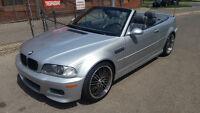 2001 BMW M3 CABRIO - NEW WHEELS / LOW KMS! HOT CAR!