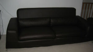 Leather reclining chair and sofa for sale