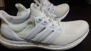 Ultra boost 1.0 triple white size 10 DS