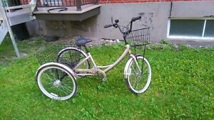 tricycle pour adulte seulement 450$