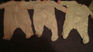 BABY CLOTHES newborn onesies/pants/sleepers Kitchener / Waterloo Kitchener Area image 4