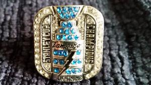 Tampa Bay Lightning 2004 Stanley Cup Replica Ring Sz 10/10.5