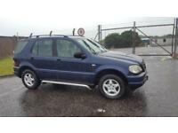 2001 51 PLATE MERCEDES ML270 CDI AUTO 2.7 TURBO