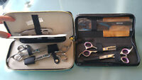Hair shears sets for sale.
