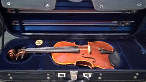 Violin for sale: Artisan crafted Francois Costa violin