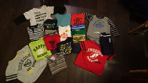 19 variety boys clothes: Osh Kosh, Carters etc USED