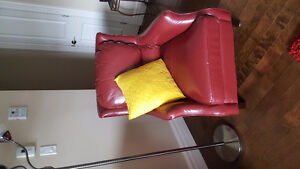 New condition Bonded Leather Chair