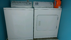 Working washer & electric dryer
