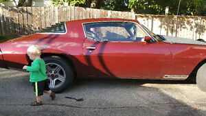 great camaro  in amazing  shape try ur  interesting trade