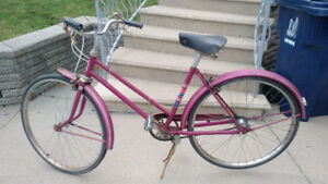 --- Vintage CCM Calico Bicycle ---