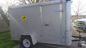 Like new 12x6x6.5 Enclosed Trailer