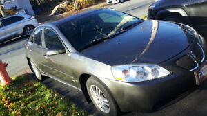 2006 Pontiac G6 Sedan, Gray, 2.4L 4cyl, 4 dr for sale