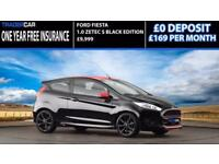 Ford Fiesta 1.0T EcoBoost 2016 Zetec S Black Edition - FREE INSURANCE!!!