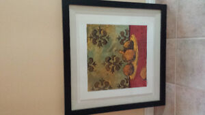 Framed Numbered Print from Bombay