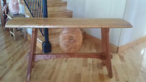 Hallway/Accent/Sofa Fir Table Handcrafted by Local Nelson Artist