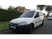 VAUXHALL COMBO 1700 DI - 12 months MOT 2002 Manual 123000 Diesel White
