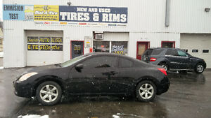 2008 Nissan Altima Coupe LOADED 204,000km Leather/Safety/E-test!