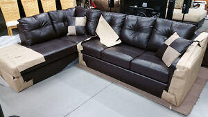 New Leather Sectional Sofa