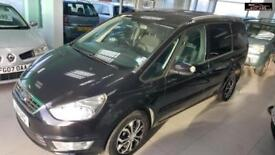 2011 FORD GALAXY TDCI Black Auto Diesel