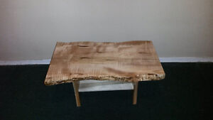 Wormy Maple CoffeeTable/Bench