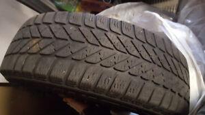 pneu d'hiver avec rims  195/55R16