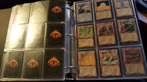 Middle Earth Tolkien Trading Cards